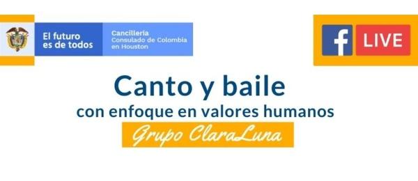 """""""Canto y baile con enfoque de derechos humanos"""" es el evento virtual del Consulado en Houston"""